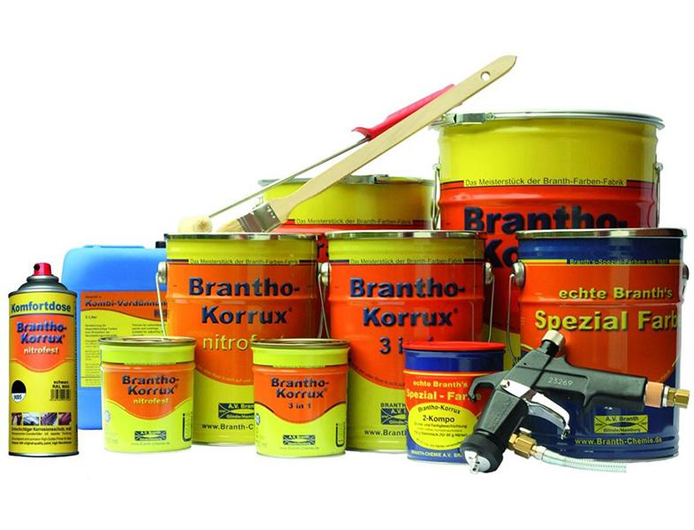Brantho-Korrux producten